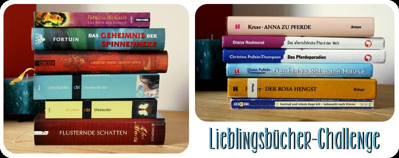 Lieblingsbücher-Challenge
